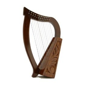 Celtic Rosewood Baby Harp