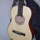 38&quot; Natural Guitar with Carrying Bag and Accessories