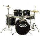Verve All Star 5 Piece Drum Set *** Color * Black