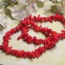 Red Coral Bracelet set of 2-40303