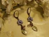 Grape Vine Earrings-25338