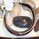 Large size silver bracelet-51723