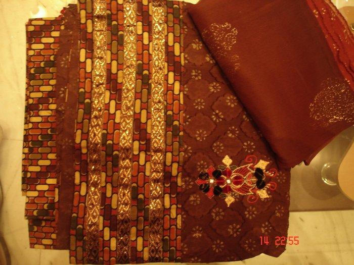 T-431: Cotton Salwar Kameez