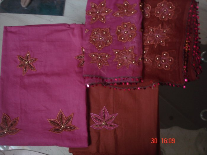 T-470: Pink Salwar Kameez