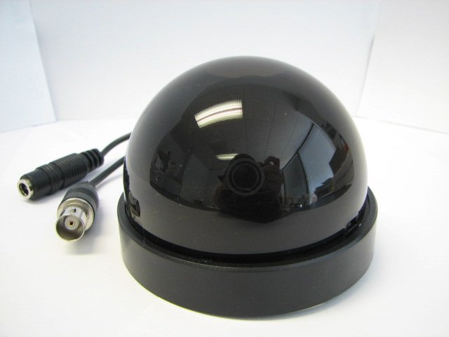 "1/3"" SONY Color HQ1 CCD, 540 TVL, 3.6mm Lens, Black in Color"