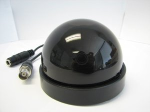 """1/3"""" SONY Color HQ1 CCD, 540 TVL, 3.6mm Lens, Black in Color"""