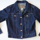 K435 Women's jean jacket LONDON JEAN Size M Made in USA