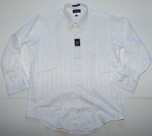 L832 New Men's shirt PADDOCK CLUB by ARROW Size 16½x32 Classics Made in USA