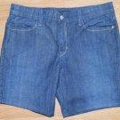 N087 Womens shorts LEVI'S Size 8M 32x7 Night Blues