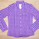 N074 New Women's shirt HOLLISTER Size M MSRP $39.50