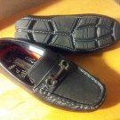 New Boys shoes JOSEPH ALLEN Size 1 Black