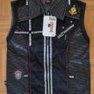 N590 New Girls corduroy vest VIKASH Size 26(tag) / Approx. L (USA)