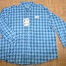 N583 New Mens shirt WRANGLER Size 3X Wrinkle Resistant