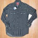 N479 New Men's shirt LUCKY BRAND Size S w/rivet MSRP $68.00