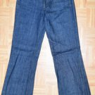 N637 Womens jeans J CREW Size 2  27x31 Indigo Made in USA