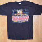 N395 Men's Wrestling T-shirt RAW 2007 Size L