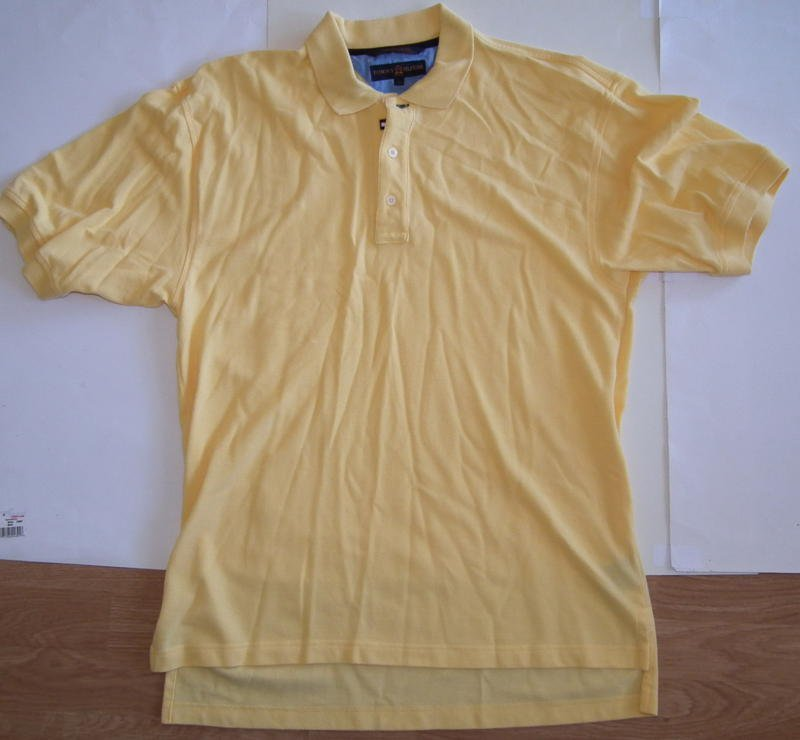 G004 Men's Polo shirt TOMMY HILFIGER Size L