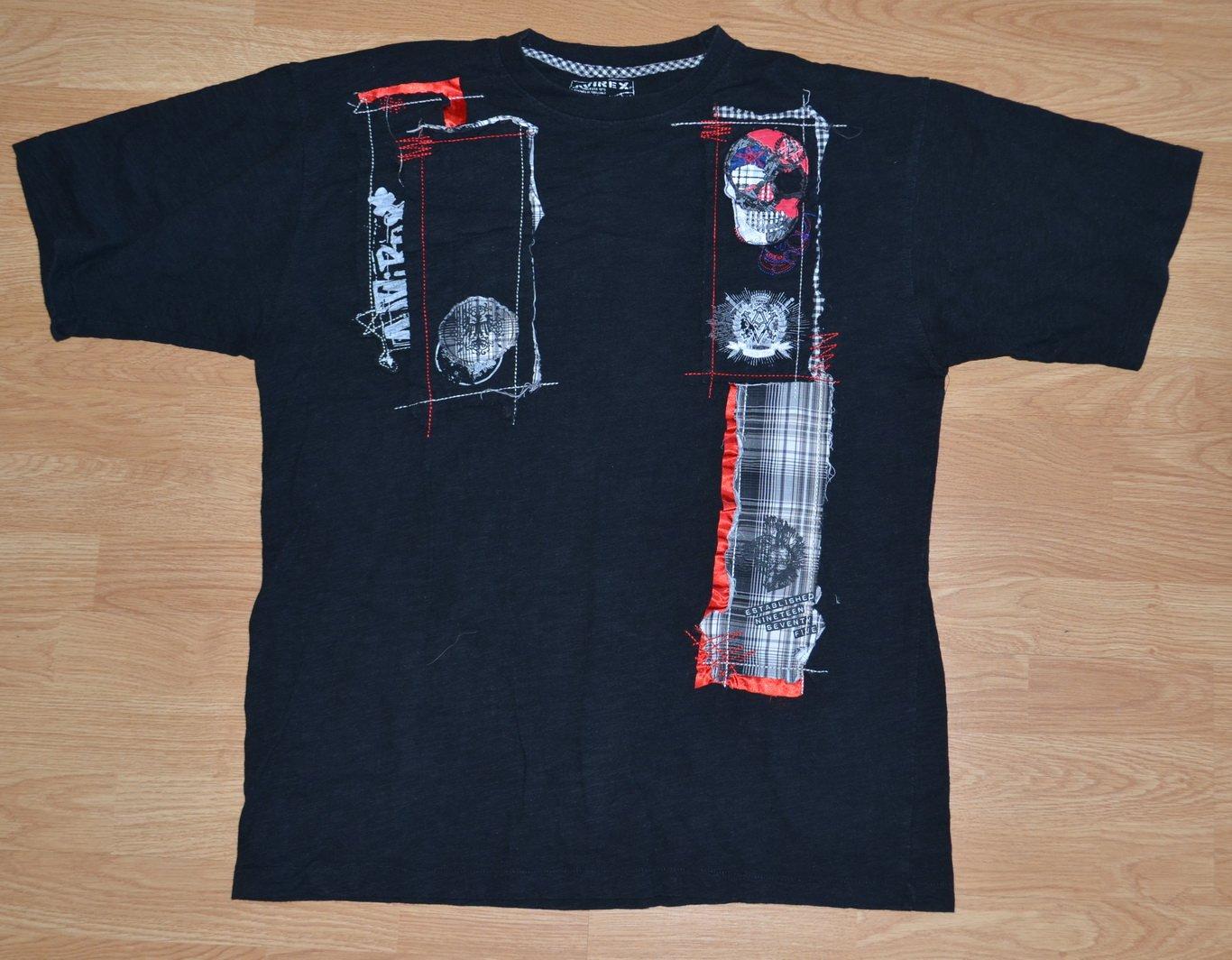 N954 Men's T-shirt AVIREX Size L 100 % cotton