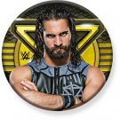 "1.25"" Pinback Button Badge WWE - Seth Rollins 1 1/4"" Rd. Button 'Buy 2 Get 1 Free'"