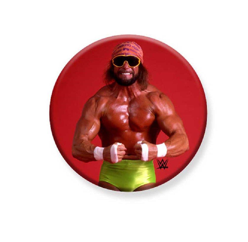 "1.25"" Pinback Button Badge WWE - Macho Man 1 1/4"" Rd. Button 'Buy 2 Get 1 Free'"