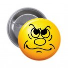 """1.25"""" Pinback Button Badge Emoji Smiley Face #1  'Buy 2 Get 1 Free'"""