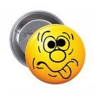 """1.25"""" Pinback Button Badge Emoji Smiley Face #7 'Buy 2 Get 1 Free'"""