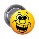 "1.25"" Pinback Button Badge Emoji Smiley Face #9 'Buy 2 Get 1 Free'"