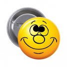 "1.25"" Pinback Button Badge Emoji Smiley Face #10 'Buy 2 Get 1 Free'"