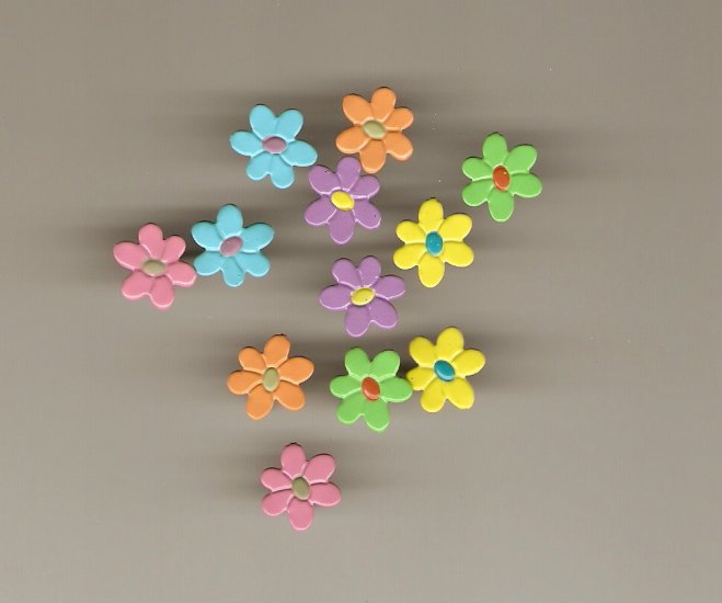 Flower Brads #618