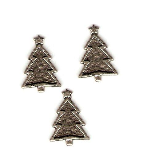Making Memories Pewter Christmas Trees #678b