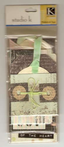 K & Co Black Meadow Pockets & Tags #423