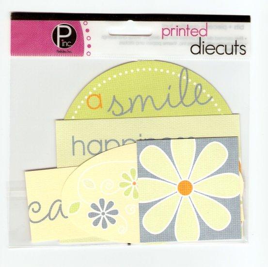 Pebbles Inc Printed Die Cuts Carefree #560