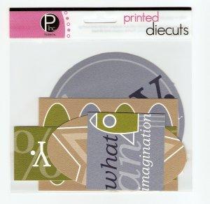 Pebbles Inc Printed Die Cuts Boys Only #563