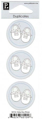 Pebbles Inc Duplicates Baby Boy Shoes #101