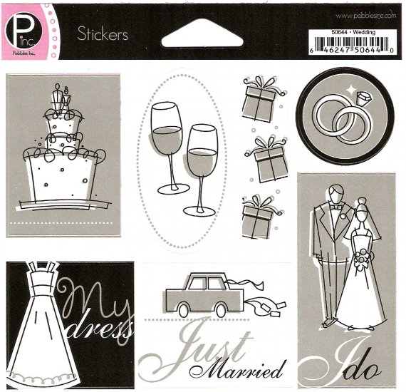 P Inc Stickers Wedding #366