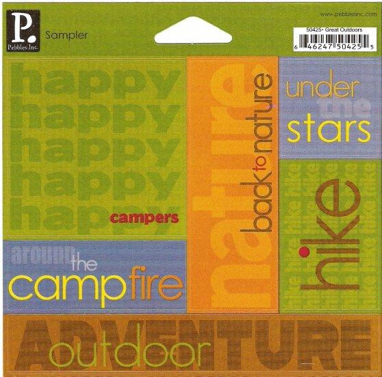 P Inc Sampler Great Outdoors #304