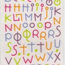 DCWV Nana's Kids Rainbow Alphabet #353