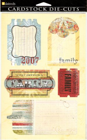 Daisy d's Family Journaling Tags #360