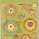 K & Company Brenda Walton Grand Adhesions Dollhouse Florals #919