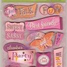 K & Company Grand Adhesions Sparkly Sweet Sassy Girl #912
