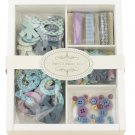 Prima Embellishment Kit Cool Blue #529