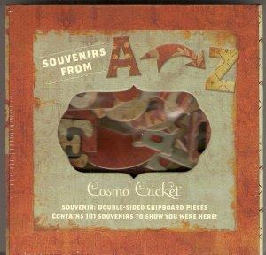 Cosmo Cricket Souvenir Chipboard #534