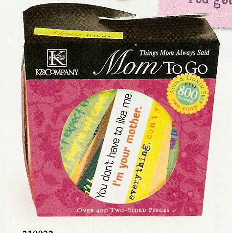 K & Company Mom To Go #559