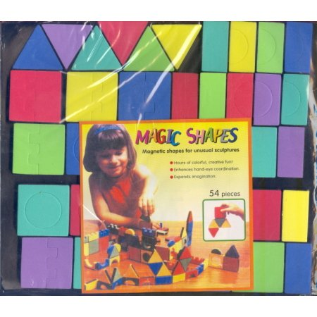 Magnetic Shapes Blocks Educational Developmental Toy