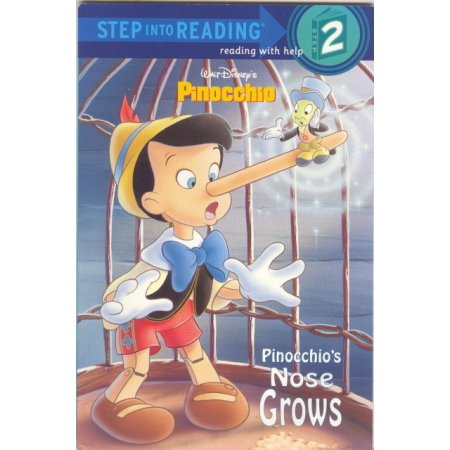 Pinocchio's Nose Grows Disney, Reader PreK-grade 1