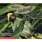 Who's Hiding? Pre-school Science Reader Educational  Book