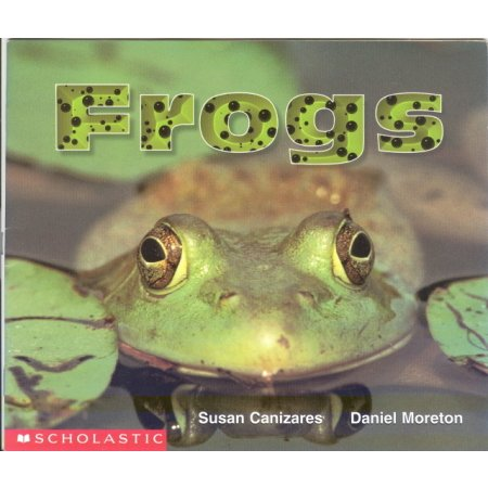 Frogs Reading Pre-school Science Reader Educational