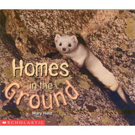 Homes in the Ground Early Reader Pre-school Science  Book