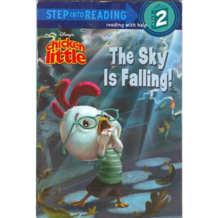 Chicken LIttle The Sky is Falling Disney Reader Pre-K-1 Book