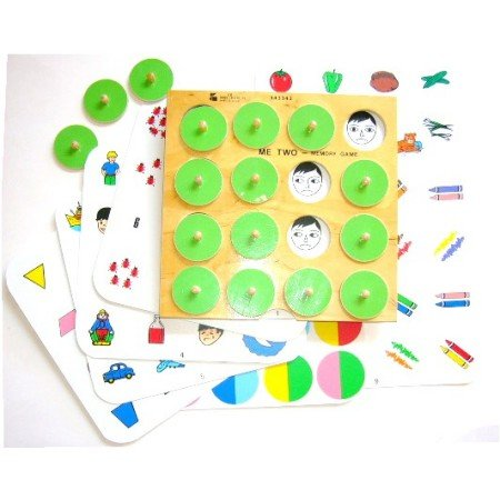 Educational Developmental Toy Wood Matching Board